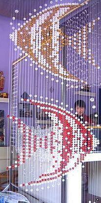 Как сделать своими руками шторы из бусин