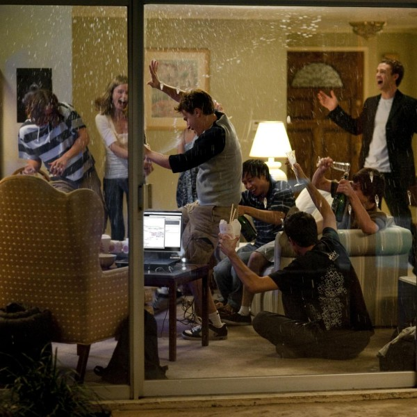 "Justin Timberlake in Columbia Pictures' ""The Social Network,"" also starring Jesse Eisenberg and Andrew Garfield."