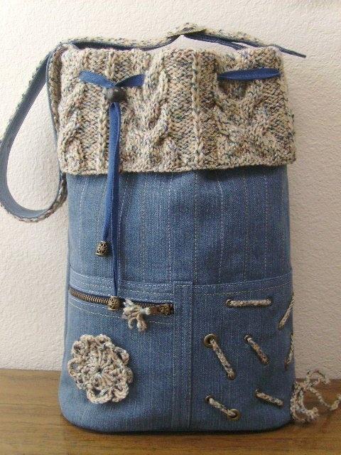 Что можно сделать с джинсами старыми своими
