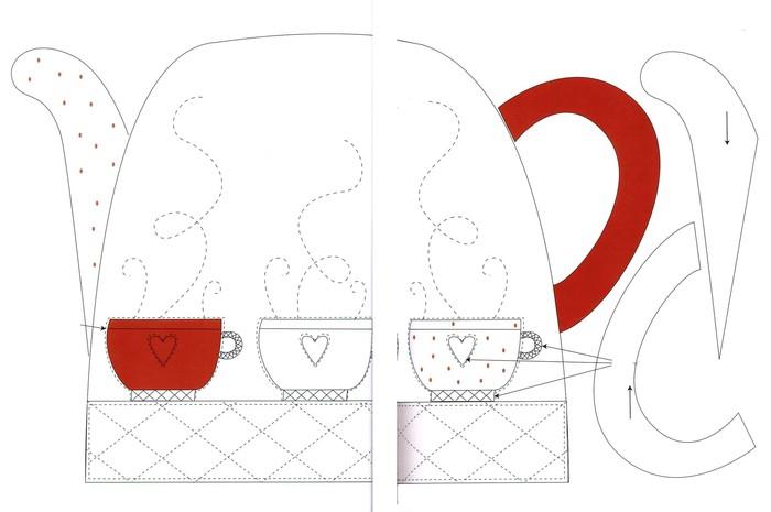 Грелки для чайника выкройки