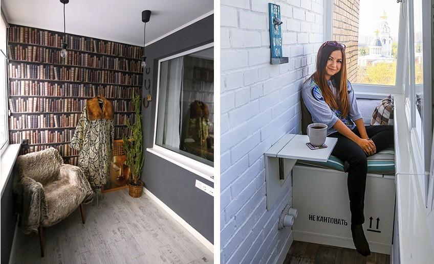 Как обустроить балкон: идеи от героев квартблога.