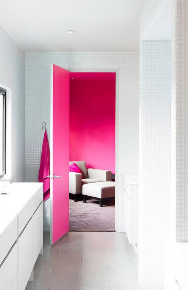 Межкомнатные двери с разными цветами сторон