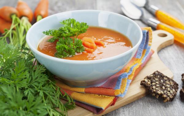 суп пюре из моркови с имбирем рецепт