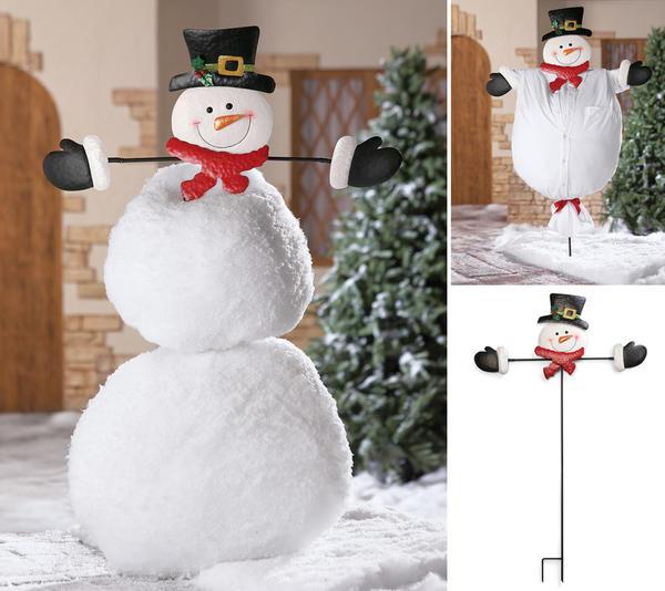 Как и из чего сделать снеговика картинки