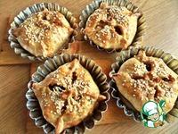 Конвертики с яблоками пошаговый рецепт