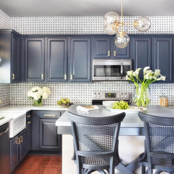 Best-Two-Tone-Kitchen-Cabinets-Grey-and-White