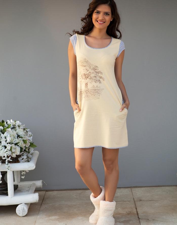 Домашняя туника платье своими руками
