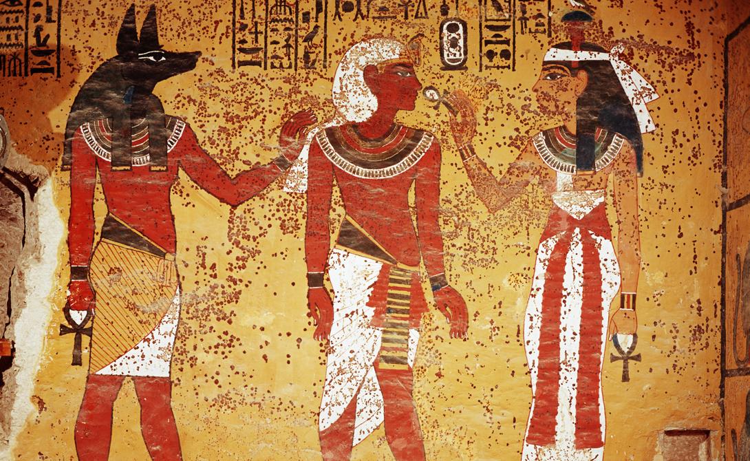 Презентация на тему:  искусство древнего египта