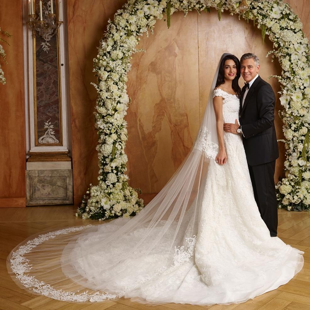 Фото со знаменитых свадеб
