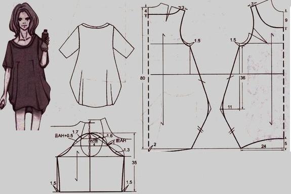 Блузка простая своими руками 325