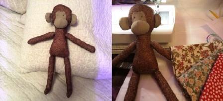 Выкройка тильды обезьянки