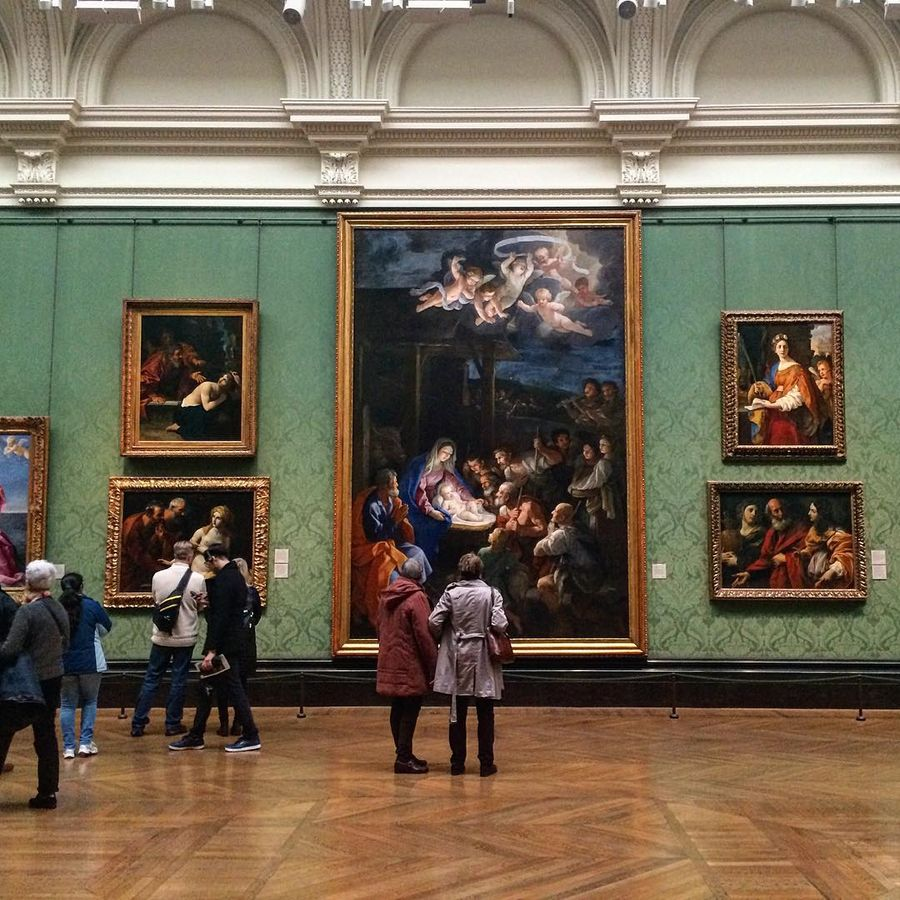 Музеи мира фото картины