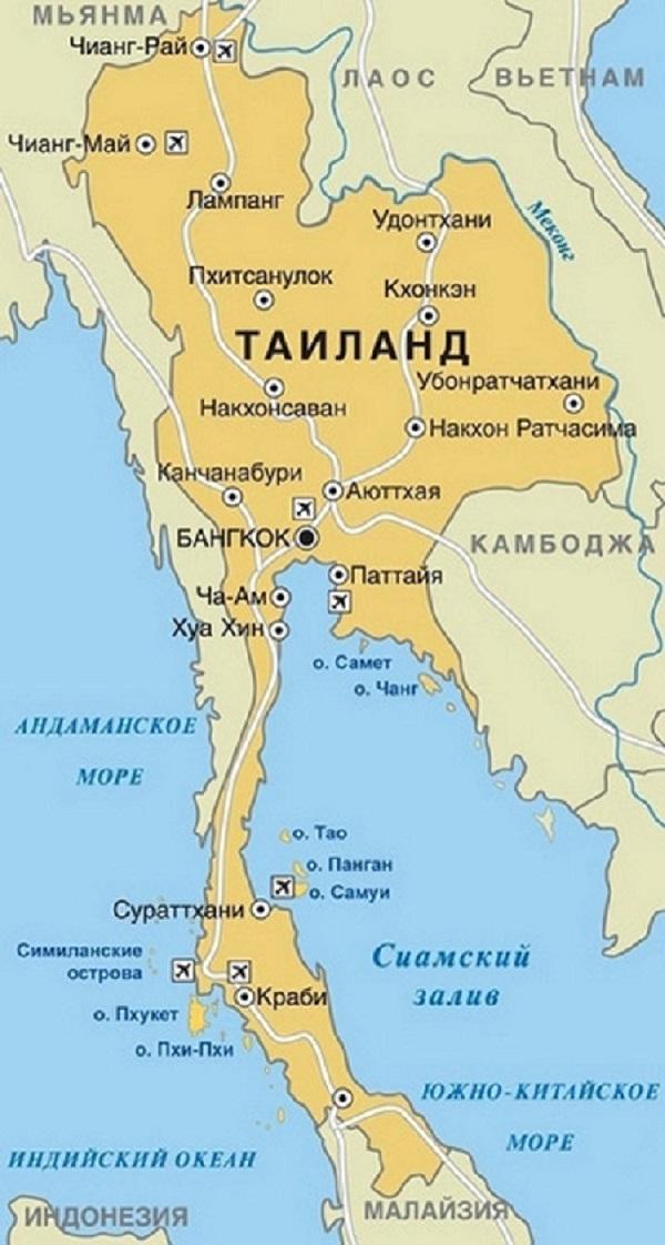 Где находиться тайланд паттайя