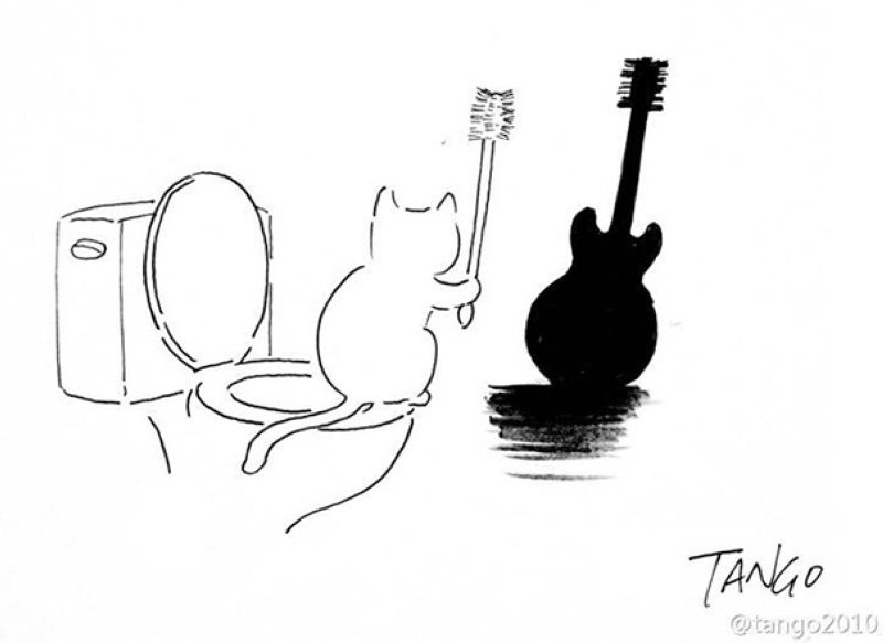 Рисованные картинки от Shanghai Tango