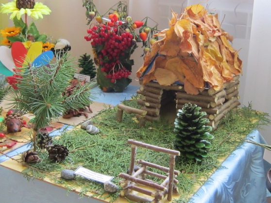 дары осени поделки в садик фото