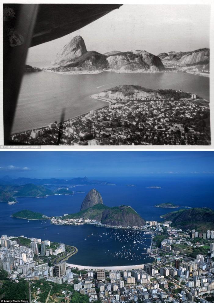 Города, которые изменились до неузнаваемости за последние 100 лет