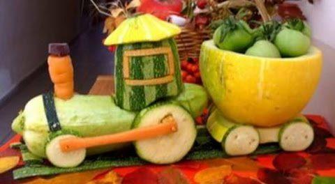 Как сохранить овощи в поделке 294
