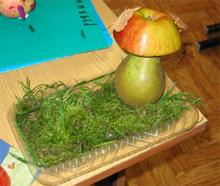 Как сделать поделку в садик из овощей или фруктов