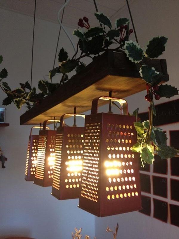 светильники самодельные фото