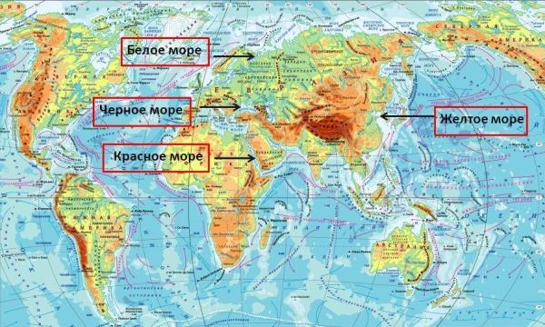 Podrobnaya Karta Chernomorskogo Poberezhya Rossii I Ego Kurorty