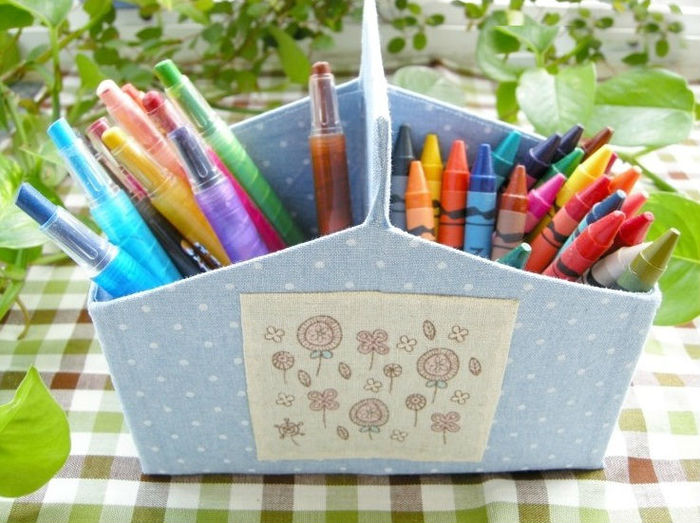 Коробка для карандашей своими руками из коробки 618