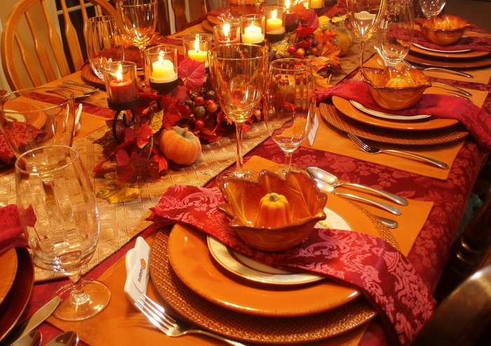 Thanksgiving decoration ideas for table