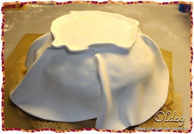 Как сделать торт мешком 201