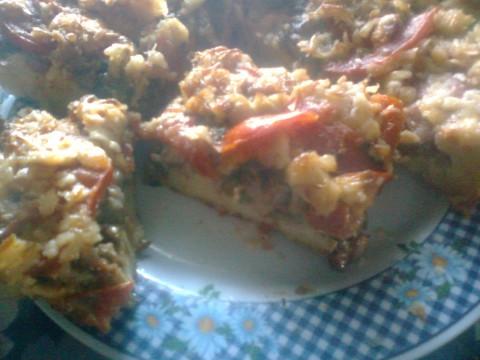 Пицца на простокваше