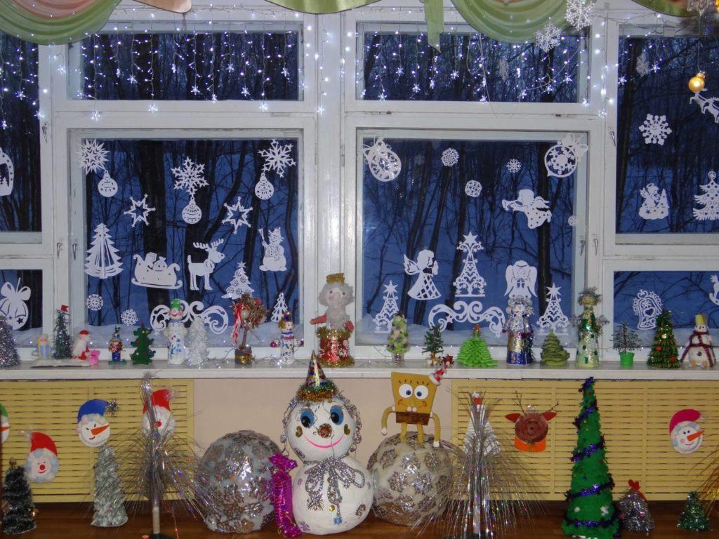 В детском саду подготовка к новому году