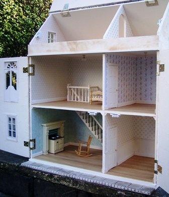 Мебель для кукольных домиков из картона своими руками фото 913