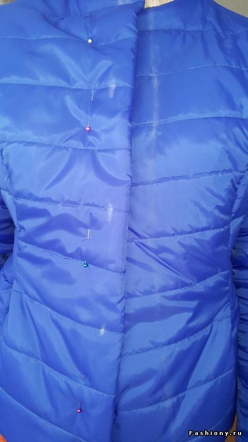 Сшить куртку на синтепоне своими руками 558