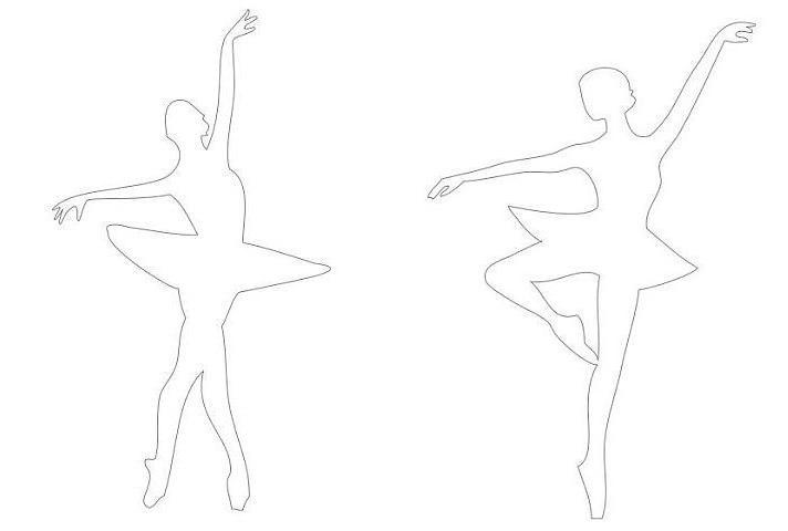 Как сделать балерин из бумаги своими руками