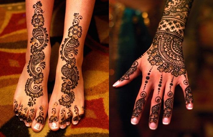 Как сделать татуировки с хны