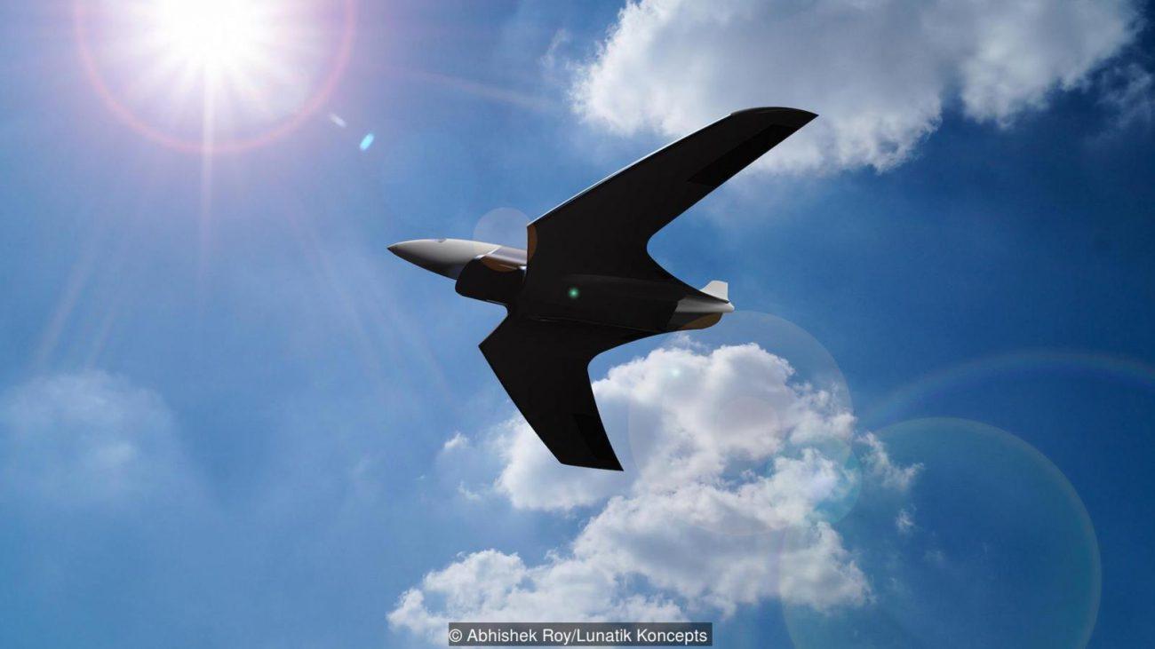 Как мог бы выглядеть самолет, летающий со скоростью 25 600 км/ч?