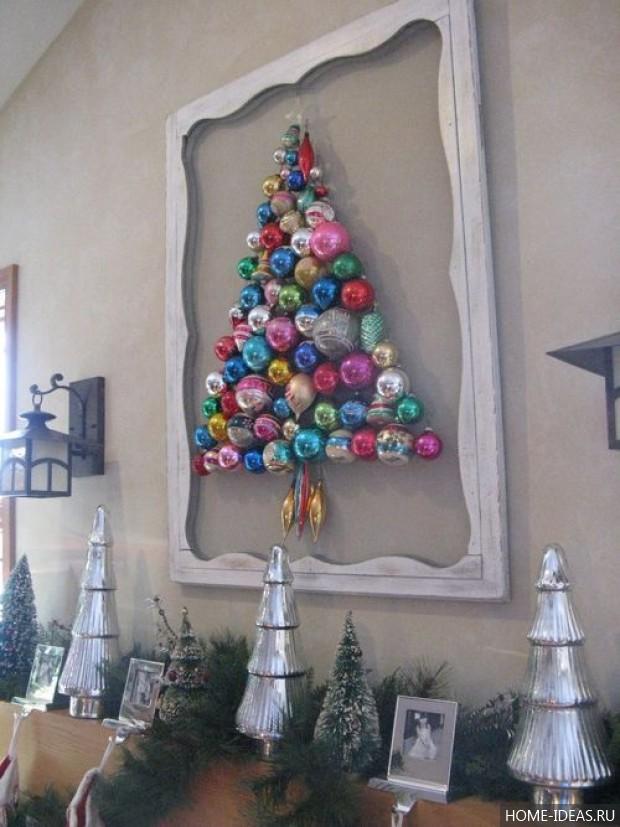 Новогодняя ёлка своими руками: фото, идеи, 100 мастер-классов