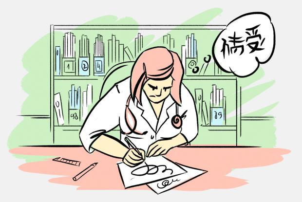 почему у людей непонятный почерк