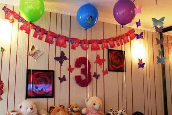 Как украсить комнату на день рождения мамы своими руками фото