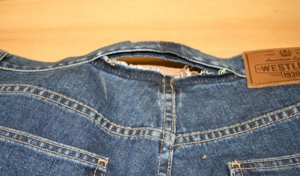 Как увеличить размер брюк своими руками 34