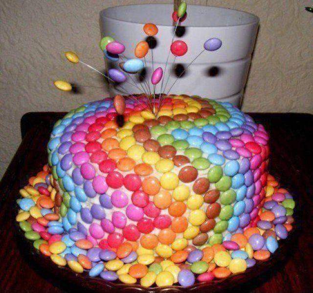 Как украсить торты своими руками на день рождения
