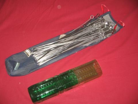 Чехол для шампуров из пластиковых бутылок своими руками
