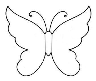 бабочки картинки шаблоны