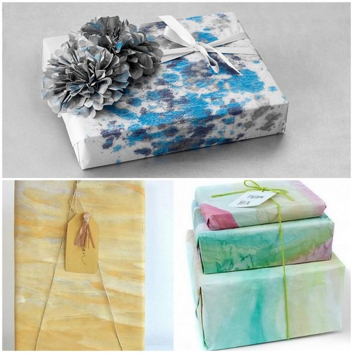 Упаковываем подарок дома