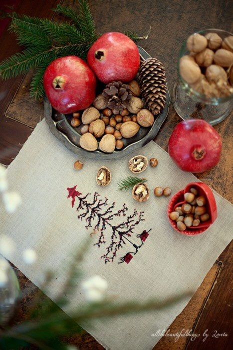Красивая сервировка праздничного стола (фото-идеи)