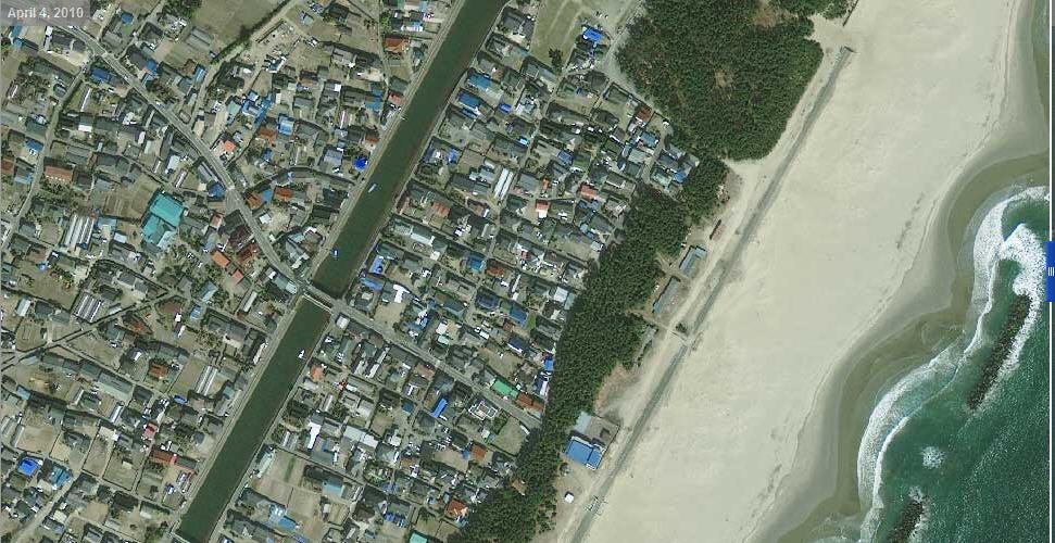 настоящее время цунами фотографии со спутника подобранный