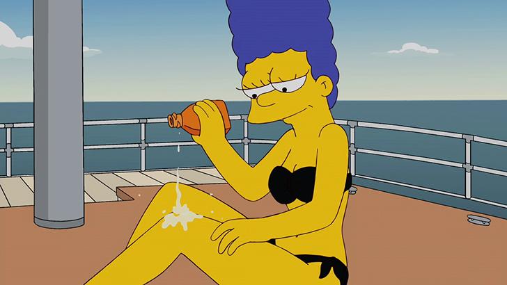 Лиза симпсон взрослая и сексуальная