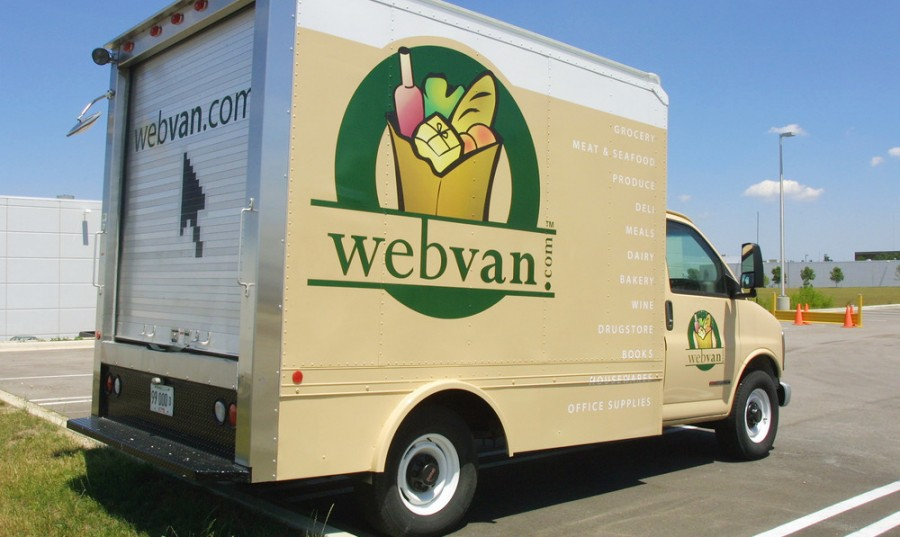 business processes and strategy for webvan