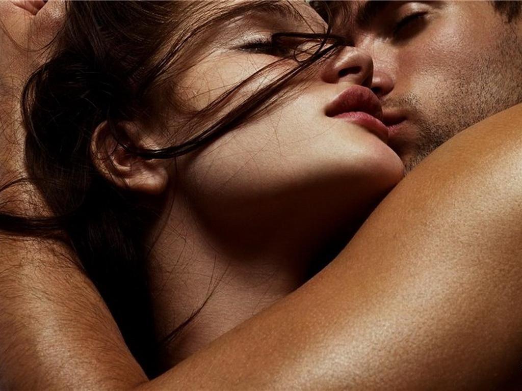 Красивая Пара Интимные Страстное Фото