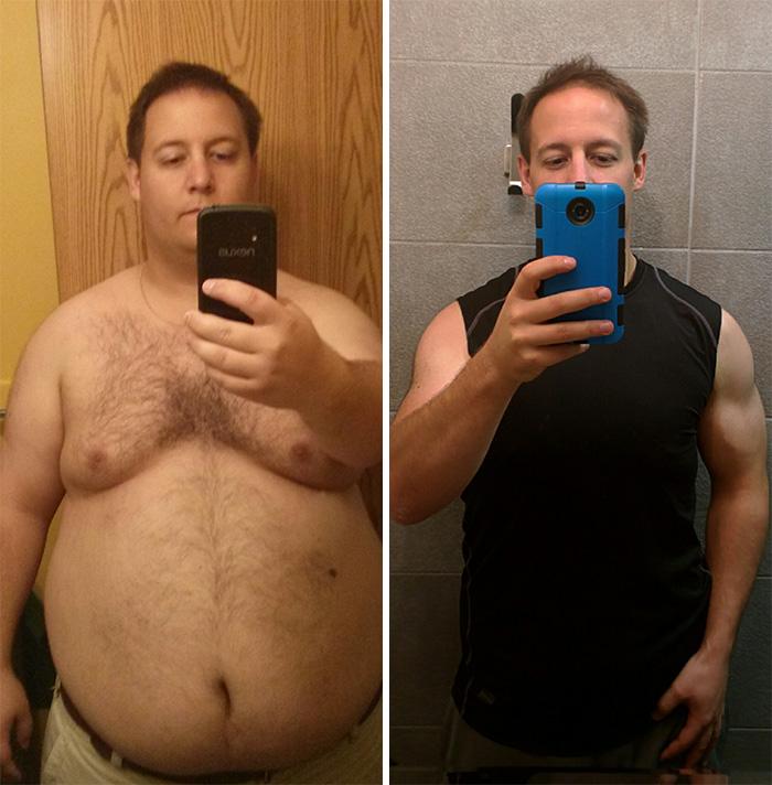 Начала жить с парнем и похудела