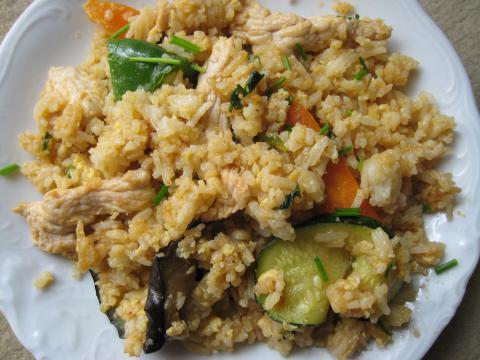 Рис с ананасом по-тайски вкусный рецепт с фото пошагово