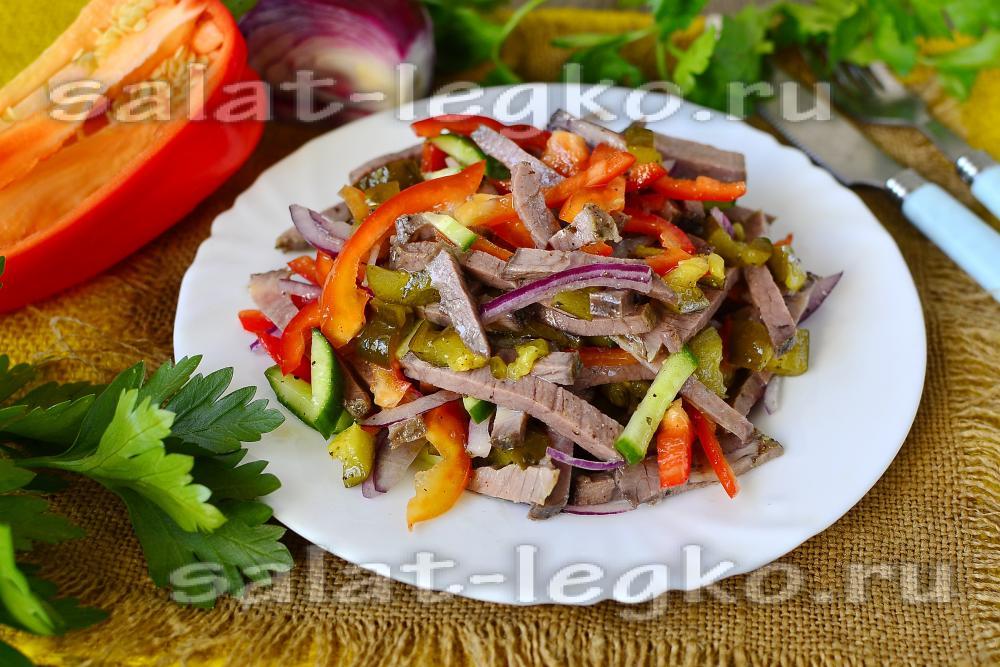 Салат провансаль рецепт с